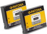 A PATONA| 2 Acumulatori p GoPro HD Hero Motorsports AHDBT001 ABPAK-001 AHDBT 001