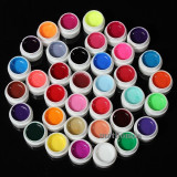 Kit Set Gel 36 Color Geluri Colorate Lampa uv Manichiura, Gel colorat, Coco
