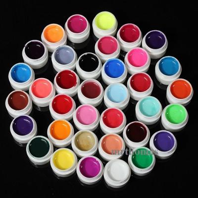 Kit Set Gel 36 Color Geluri Colorate Lampa uv Manichiura foto