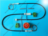 Kit reparatie macara geam  Citroen C3 Pluriel (an fab. 2003-2010) spate dreapta, C3 Pluriel (HB) - [2003 - 2013]