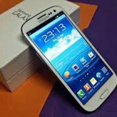 Samsung galaxy s3 - Telefon mobil Samsung Galaxy S3, Alb, 16GB, Neblocat, Quad core, 1 GB