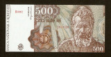 ROMANIA - 500 LEI -  IANUARIE  1991 ,  NECIRCULATA ,  UNC !!