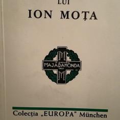 TESTAMENTUL LUI ION MOTA 2003 48 PAG COLECTIA EUROPA MUNCHEN MISCAREA LEGIONARA