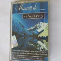 CASETA MUZICA-MUZICA DE RELAXARE 2 - Muzica Ambientala, Casete audio