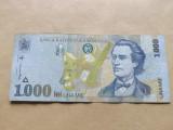 Romania  1000  Lei  1998 - serie bancnota 003 A 9304133