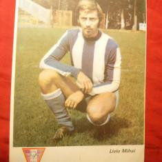 Fotografie Fotbal- Liviu Mihai -jucator CFR Cluj, dim. = 12x17 cm