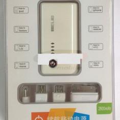 Baterie externa telefon mobil si tableta PC, 2600 mAh