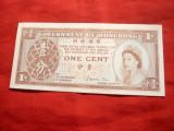 Bancnota 1 Cent Hong Kong ,cal. Necirculat