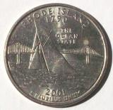 G5. SUA QUARTER 25 CENTS CENTI 2001 P RHODE ISLAND, 5.67 g, 24.3 mm **, America de Nord