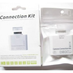 Kit conectare 5 in 1 camera foto si USB pentru iPad / iPad 2 / iPad 3 - Adaptor Tableta