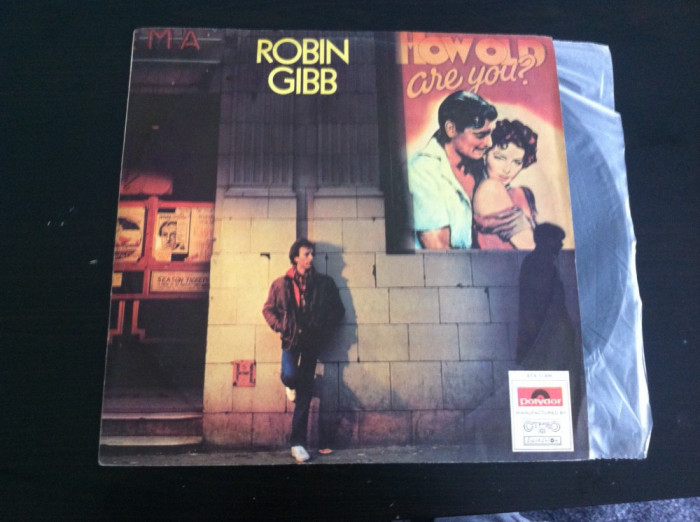 ANDY GIBB - AFTER DARK SI ROBIN GIBB - HOW OLD ARE YOU-SET 2 BUC