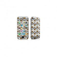 Kit acoperire iPhone 4 / 4S Smores - Sticker Telefon