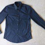 Camasa Hugo Boss Slim Fit; marime 42 (16 1/2): 54 cm bust, 78.5 cm lungime etc. - Camasa barbati, Culoare: Din imagine, Maneca lunga