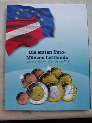 LETONIA EURO SET 2014 - MDM DEUTSCHE MUNZE foto