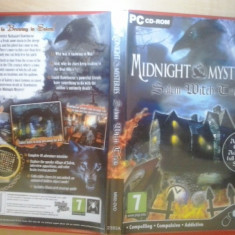 Joc PC - Midnight Mysteries - Salem with trials (GameLand - sute de jocuri), Role playing, Toate varstele