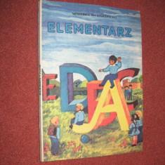 Abecedar - limba polona - Elementarz (1995) - Manual scolar didactica si pedagogica, Didactica si Pedagogica