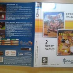 Joc PC - Worms 2 + Worms Armageddon (GameLand - sute de jocuri), Strategie, 12+