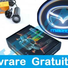 Proiectoare logo, montare sub usa Mazda - Logo Marca