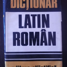 DICTIONAR LATIN-ROMAN -- Gh. Gutu -- 1973, 624 p.