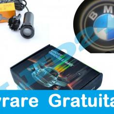 Set proiectoare / Logo montare sub usa 5w BMW - Logo Marca