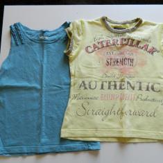 Set maieu si tricou vara pentru fetite, 2-4 ani, ideale la joaca, Culoare: Din imagine, Fete