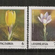 Iugoslavia.1991 Flori-Branduse  SI.735