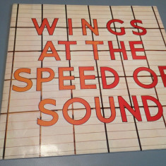 WINGS(Paul McCartney)- AT THE SPEED OF SOUND (1976 / EMI REC/ RFG ) - VINIL/ROCK - Muzica Rock emi records