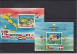 1990 PRELIMINARII SI CAMPIONATUL FOTBAL ITALIA,COLITA NEDANT, MNH - LOT 1 RO, Nestampilat