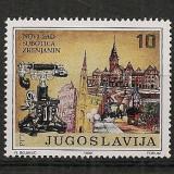 Iugoslavia.1992 100 ani telefonul in Voivodina SI.749 - Timbre straine