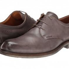 Pantofi ECCO Findlay Tie | 100% originali, import SUA, 10 zile lucratoare, Piele intoarsa
