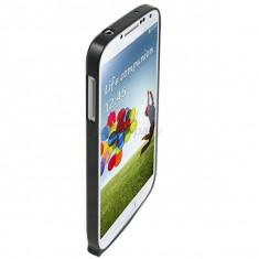 Bumper metal negru Samsung Galaxy S4 i9500 + folie ecran - Bumper Telefon