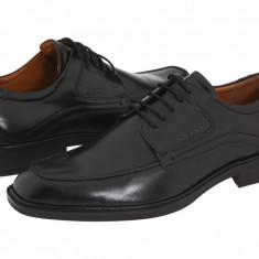 Pantofi ECCO Windsor Apron Tie | 100% originali, import SUA, 10 zile lucratoare - Pantofi barbat Ecco, Piele naturala