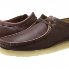 Pantofi Clarks Wallabee | 100% originali, import SUA, 10 zile lucratoare - Pantof barbat Clarks, Piele intoarsa