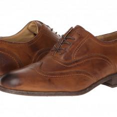 Pantofi Frye Harvey Wingtip | 100% originali, import SUA, 10 zile lucratoare - Pantofi barbat Frye, Piele naturala