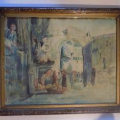 PIATA IN PEISAJ ORIENTAL- CATELIU - Pictor roman