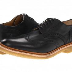 Pantofi Frye James Crepe Wingtip | 100% originali, import SUA, 10 zile lucratoare - Pantofi barbat Frye, Piele naturala