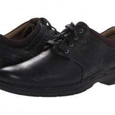 Pantofi Clarks Senner Place | 100% originali, import SUA, 10 zile lucratoare - Pantofi barbat Clarks, Piele intoarsa, Casual
