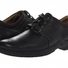 Pantofi Clarks Senner Place | 100% originali, import SUA, 10 zile lucratoare - Pantof barbat Clarks, Piele intoarsa, Casual