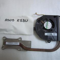 Cooler RADIATOR + VENTILATOR LAPTOP  Asus A53U X53U K53U Series