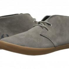 Pantofi Fred Perry Byron Mid Suede | 100% originali, import SUA, 10 zile lucratoare - Pantofi barbat Fred Perry, Sport