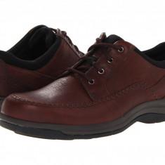 Pantofi Clarks Portland2 Tie | 100% originali, import SUA, 10 zile lucratoare - Pantofi barbat Clarks, Piele naturala, Casual