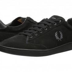 Pantofi Fred Perry Hopman Suede | 100% originali, import SUA, 10 zile lucratoare - Pantofi barbati Fred Perry, Piele intoarsa
