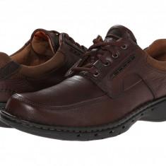 Pantofi Clarks Un.bend | 100% originali, import SUA, 10 zile lucratoare - Pantofi barbat Clarks, Piele intoarsa, Casual