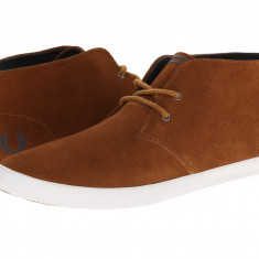 Pantofi Fred Perry Byron Mid Suede | 100% originali, import SUA, 10 zile lucratoare - Pantof barbat Fred Perry, Sport