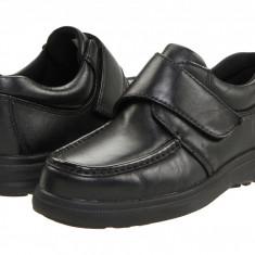 Pantofi Hush Puppies Gil | 100% originali, import SUA, 10 zile lucratoare - Pantofi barbat Hush Puppies, Piele intoarsa, Casual