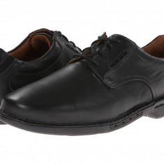 Pantofi Clarks Un.Corner Plain | 100% originali, import SUA, 10 zile lucratoare - Pantofi barbat Clarks, Piele intoarsa