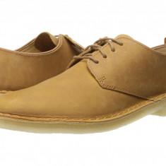 Pantofi Clarks Desert London | 100% originali, import SUA, 10 zile lucratoare - Pantofi barbat Clarks, Piele intoarsa