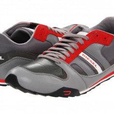 Pantofi Diesel Gunner - 12 | 100% originali, import SUA, 10 zile lucratoare - Pantofi barbat Diesel, Piele intoarsa