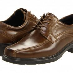 Pantofi ECCO Helsinki Bicycle Toe Tie | 100% originali, import SUA, 10 zile lucratoare - Pantofi barbat Ecco, Piele intoarsa