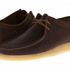Pantofi Clarks Wallabee | 100% originali, import SUA, 10 zile lucratoare - Pantofi barbat Clarks, Piele naturala